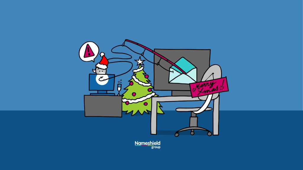 Fond d'écran illustration Phishing