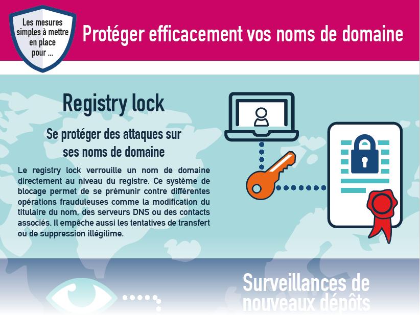 Infographie : Protéger efficacement vos noms de domaine