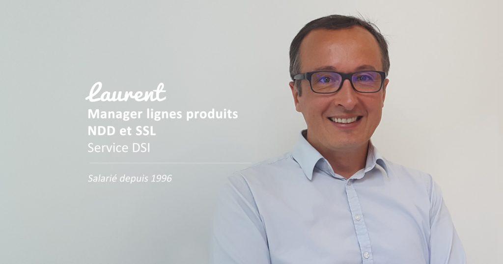 Laurent, manager ligne produits NDD & SSL